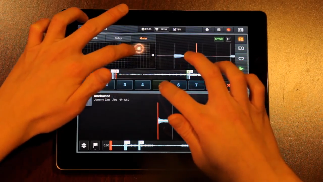 How to Remix Songs in Traktor DJ (iPad) with Loops and Cues