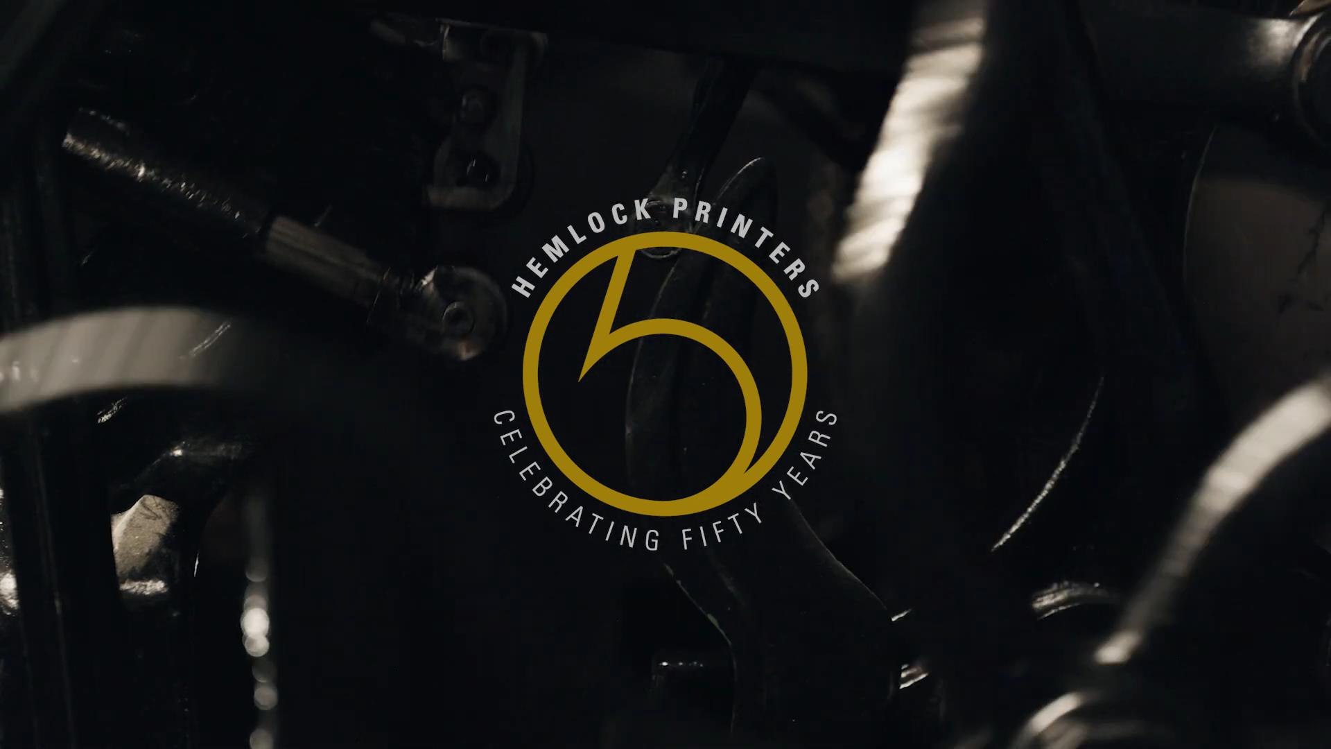 Hemlock Printers 50th Anniversary
